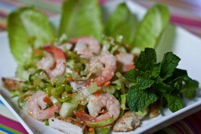 Shrimp and Swai Salad