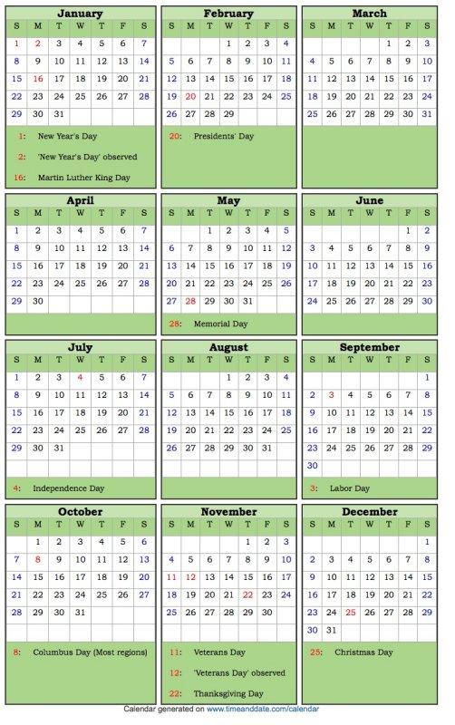 CalendarDoubleSpacedHolidays.JPG