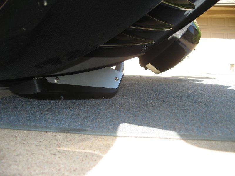 Note saddlebag clearance