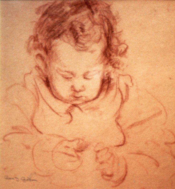 Sketch of W.D.A. Smith by Cora Gordon 1918/1919