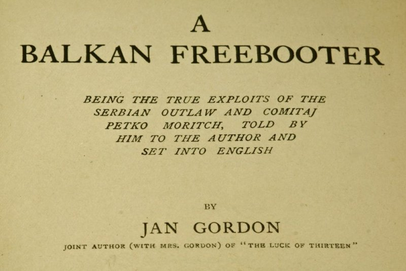 A Balkan Freebooter was published in 1916 and was the sequel to Luck of Thirteen.