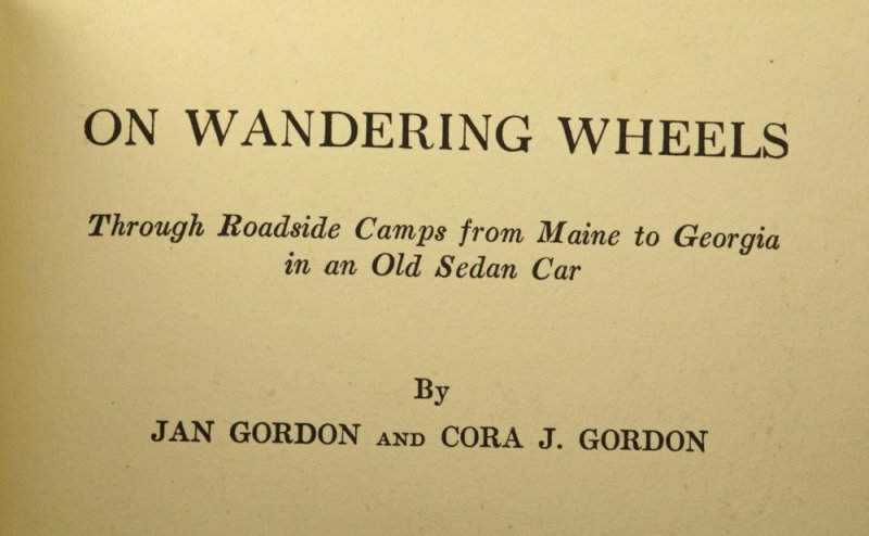 Published in 1929, an account of the first part of the Gordons tour of USA.