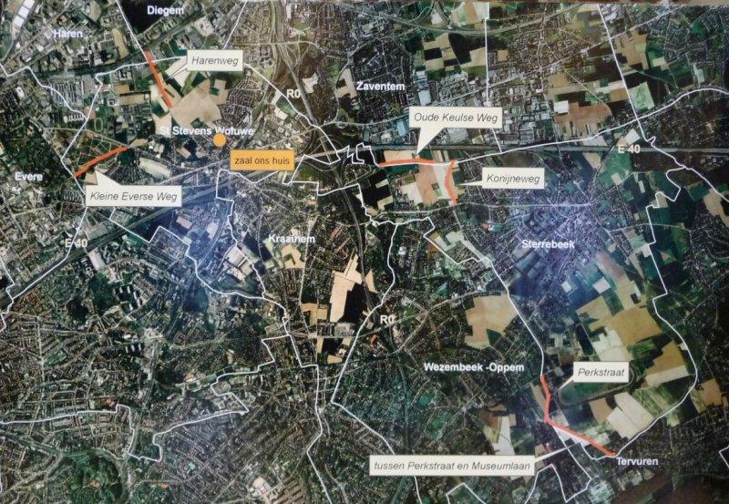 Plan satellite.