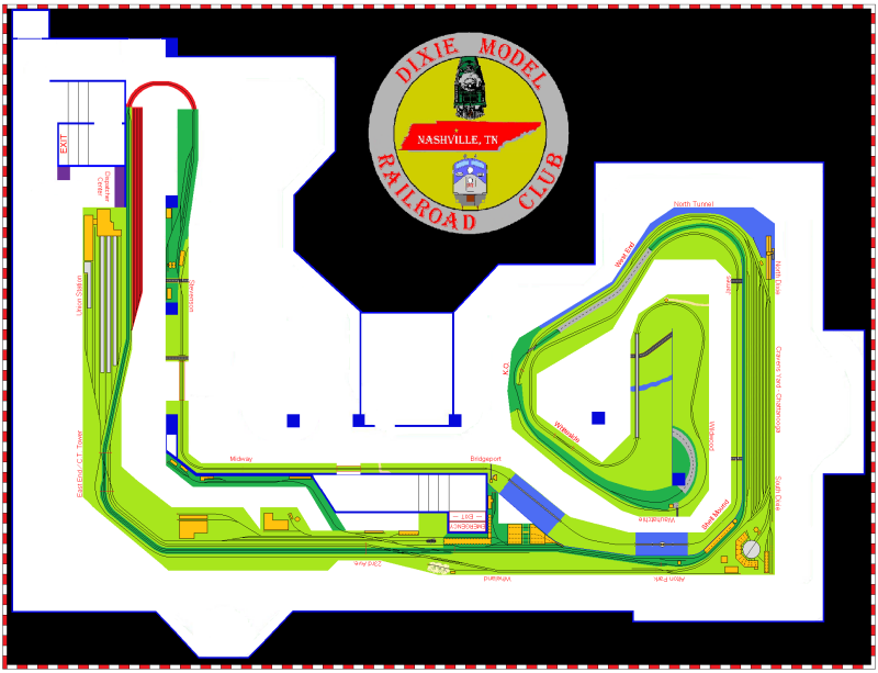Layout as of 8-1-11