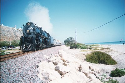 Steamin' through San Clemente
