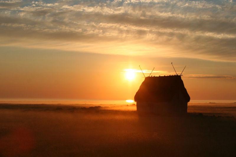 Sunrise on Gotland