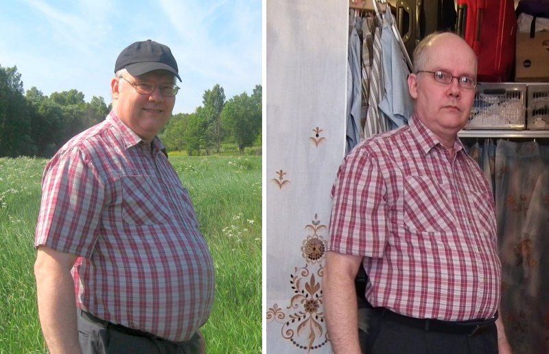 20120522 Before and after, Dukan Diet, LCHP, LCHF, LC, GI