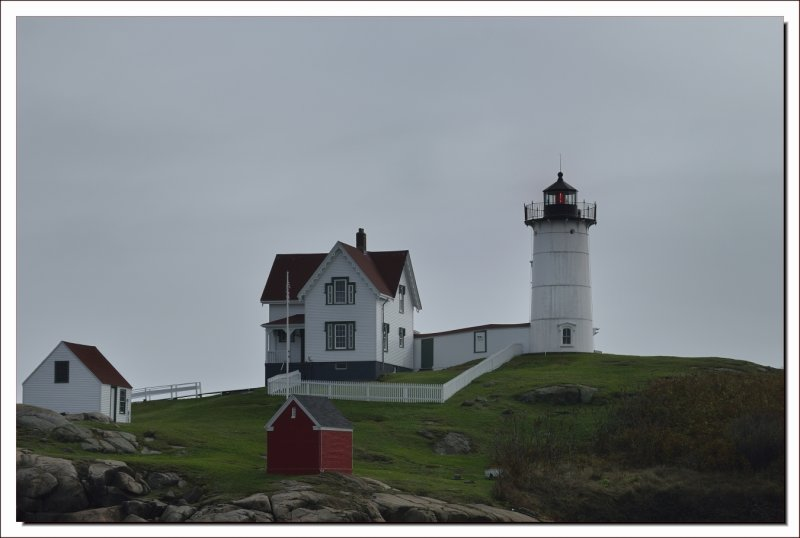 Nubble Light House in Maine.