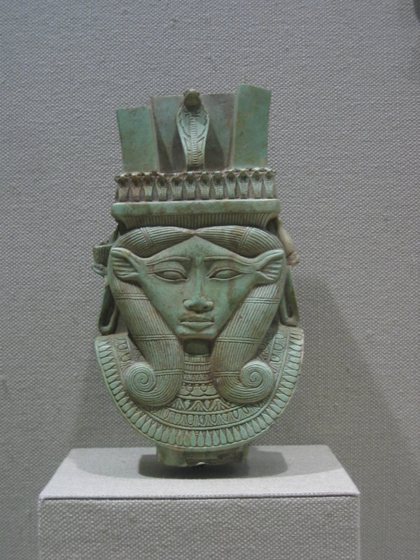 An Assyrian version of the Egyptian goddess Hathor <br>5157