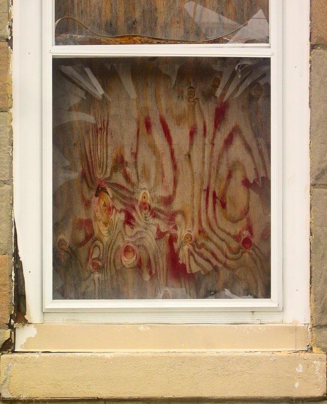 Boarded Window on Mantua Ave <br>5461
