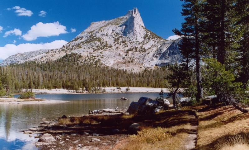 Cathedral lake-peak
