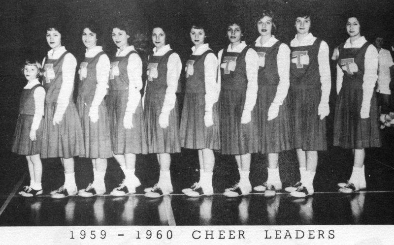 Training Cheerleaders 1959-60