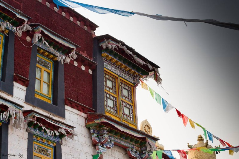Ethnic Cultural Park.Tibetan Corner