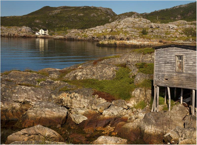 Coast at Salvage Newfoundland