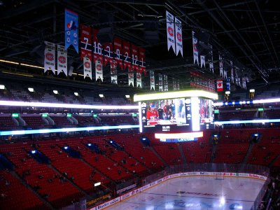 Hockey night at the Bell Centre