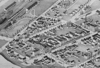 Downtown Collingwood - 1875