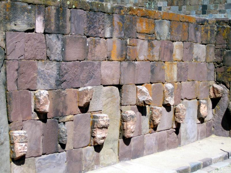 Tiwanaku/subterranean temple