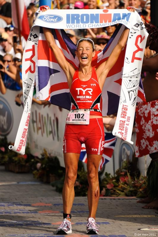 Chrissie Wellington, Ironman Kona 2011 Women's Winner