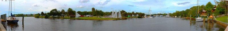 Eau Gallie Yacht Club and Ballard Park