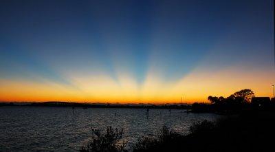 Rays Before Sunrise