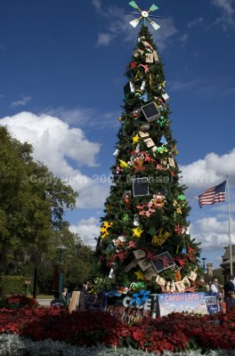 Christmas Tree at Downtown Disney