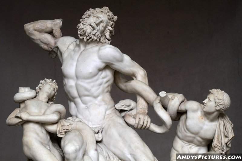 Laocoön and His Sons statue - Vatican Museums