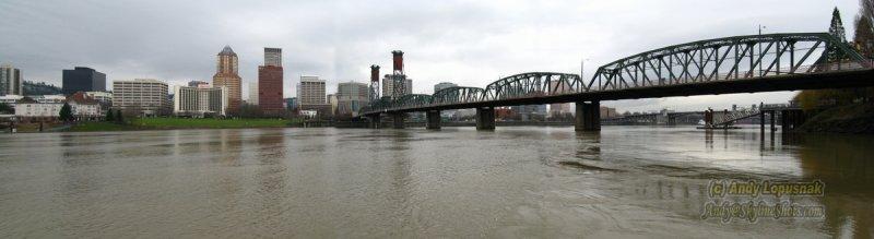 Panorama of Portland, Oregon