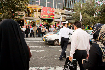 Street scene - Tehran