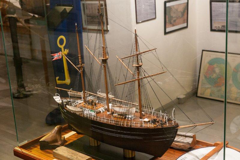 Her er den, god og trulten. Ikke verdens vakreste skip, men det gjorde jobben!