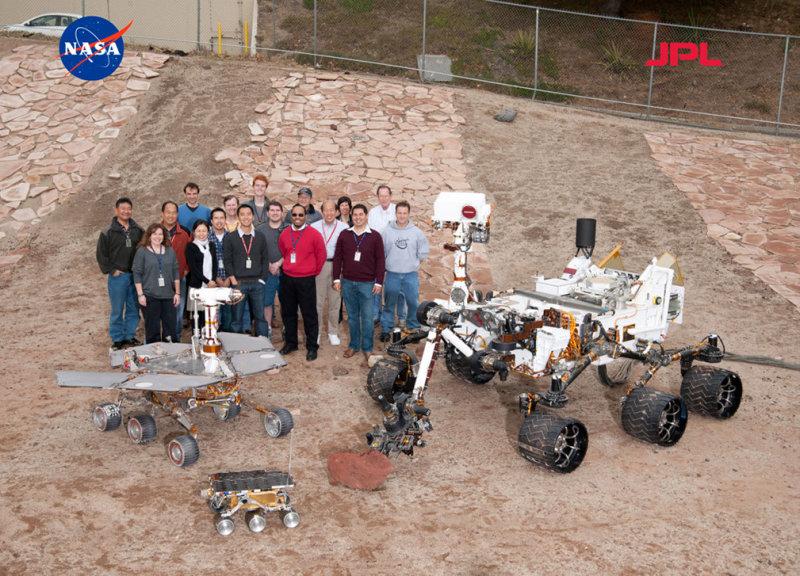 Awaiting the Mars Curiosity landing on August 5, 2012