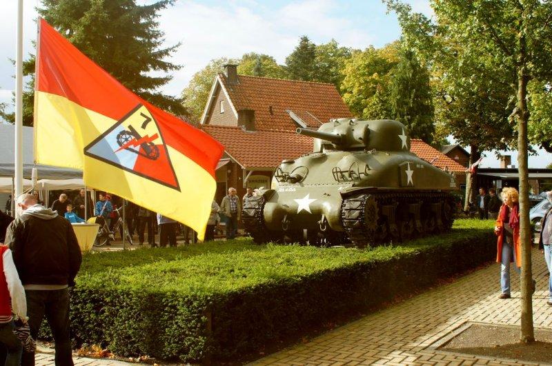 De tank Able Abe waar het vandaag om draait