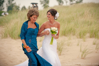 Mother Of The Bride Beach Wedding Dress 91 Simple Brides mother walks her