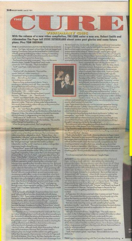 1991 - Melody Maker interview Part 1.jpg