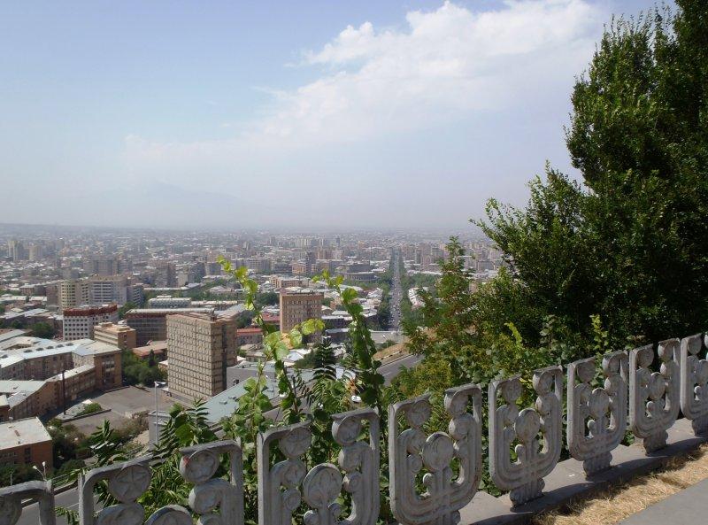 Overlooking Yerevan