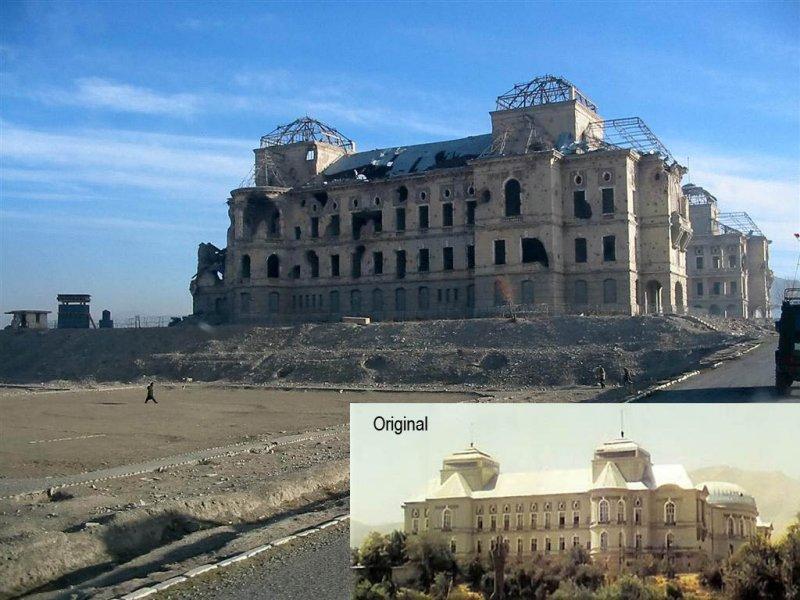 The Kings (Darul Aman) Palace - Kabul, Afghanistan
