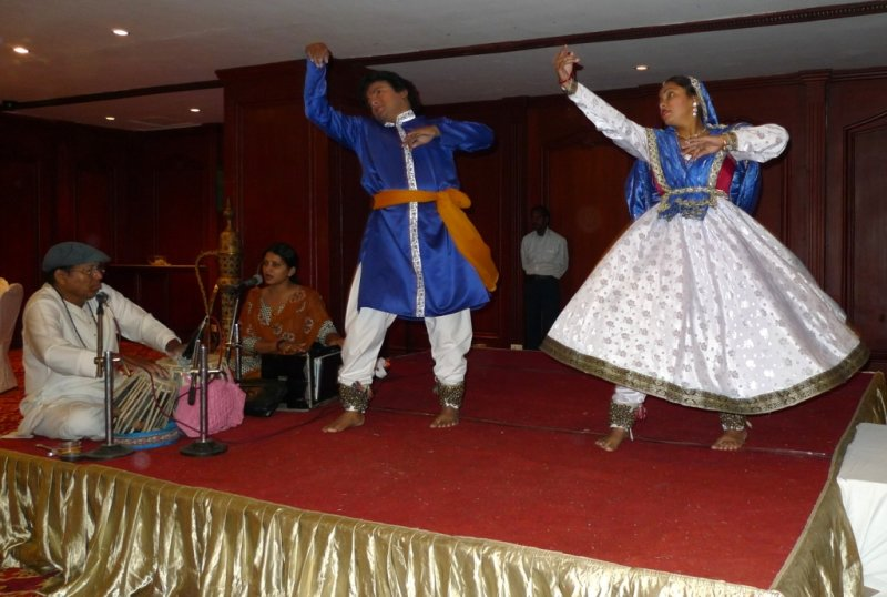 Classical Kathak Dance at Our Hotel
