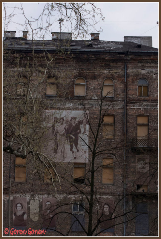 The remains of the Warsaw ghetto