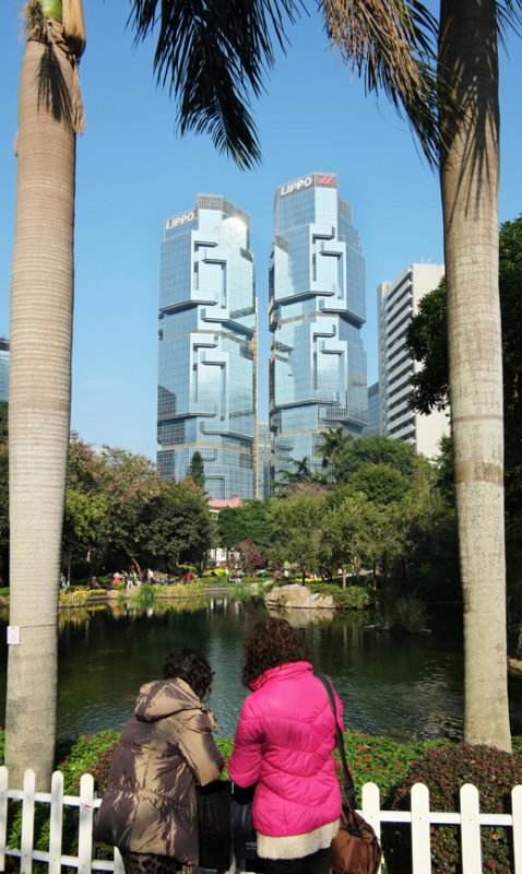 the twin tower...
