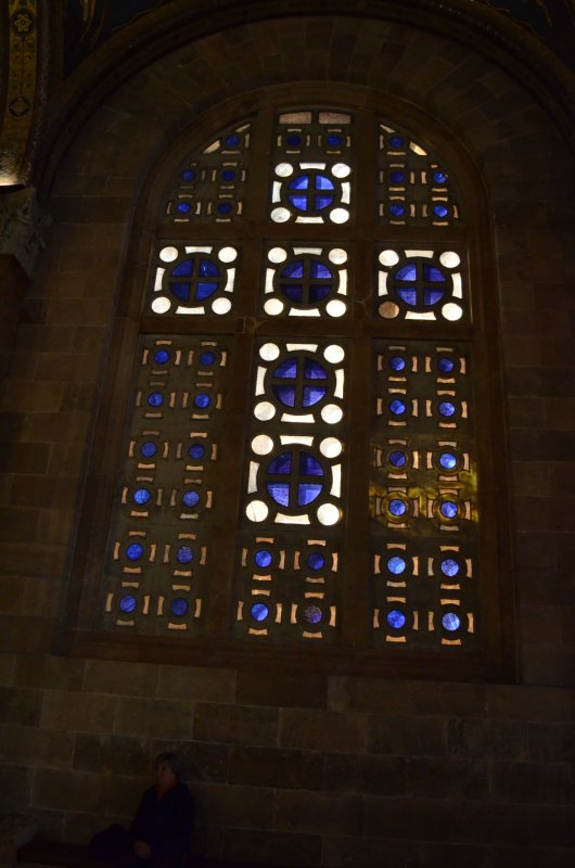 Stained Glass in the Church of All Nations II