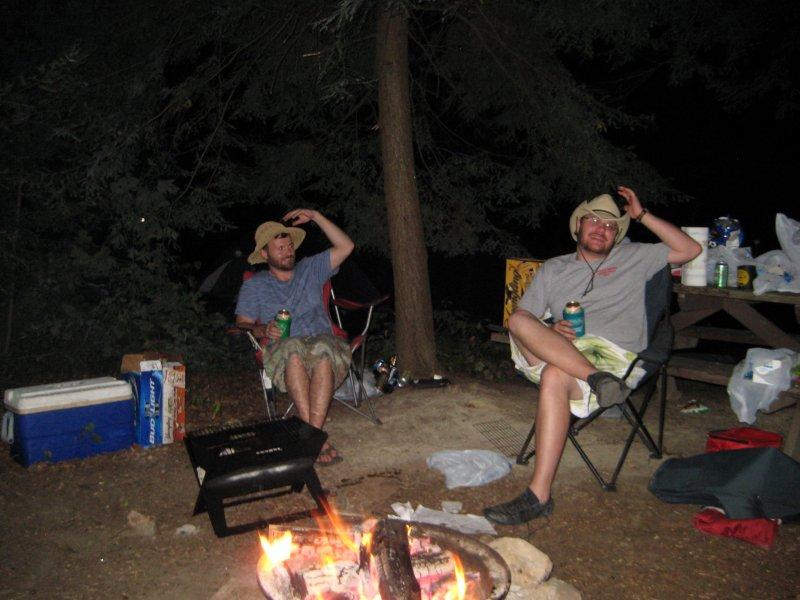Aaron and Shaun
