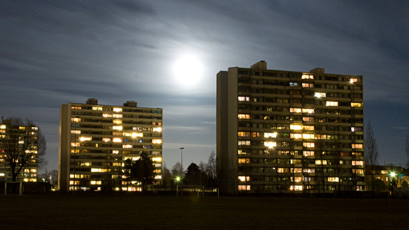 The moon / Månen