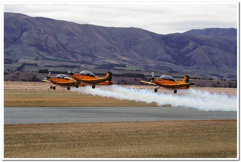 RNZAF Red Checkers  Civilian Trainer 4E (CT-4E) Airtrainer