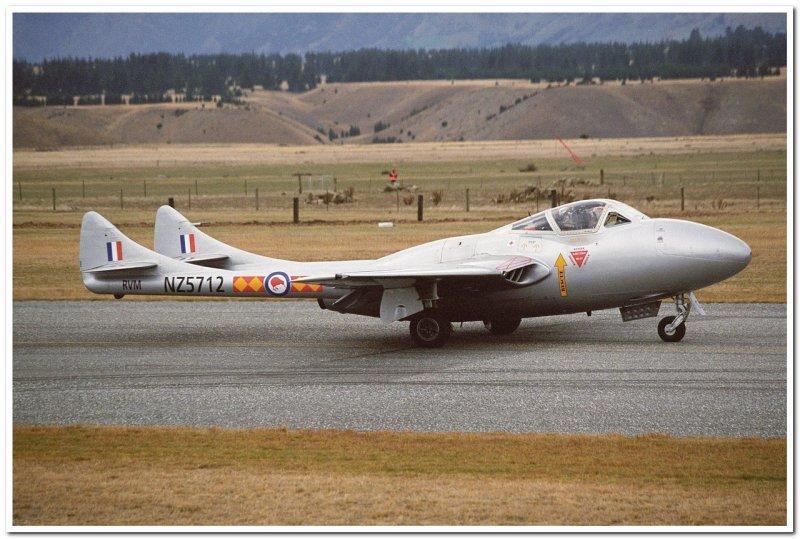 RNZAF De Havilland Vampire