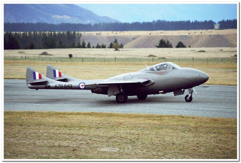 RAAF De Havilland Vampire