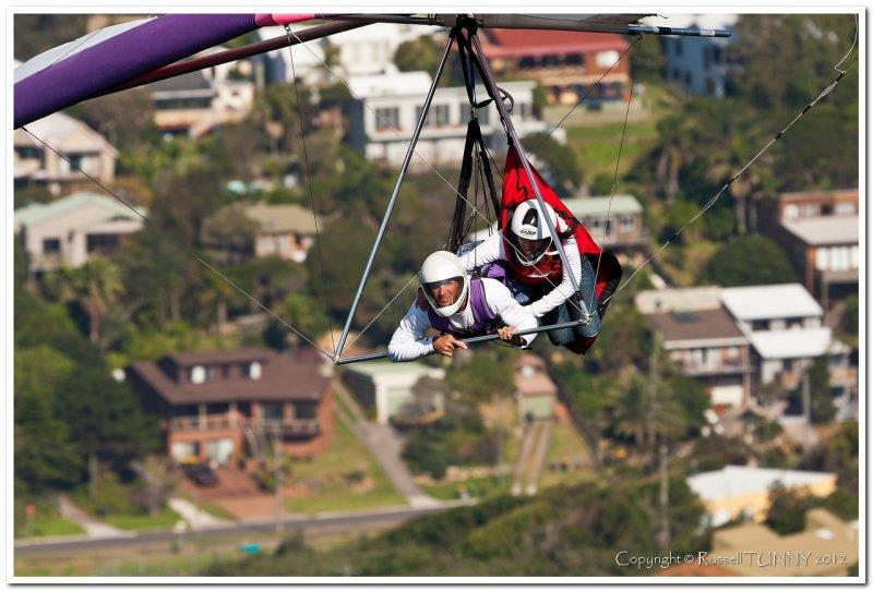 Hang Gliding Over Stanwell Park