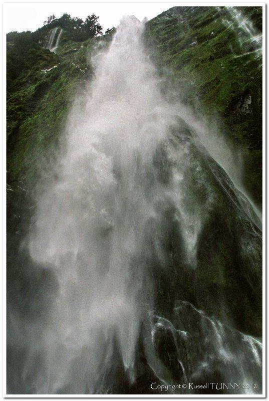 Milford Sound Waterfall
