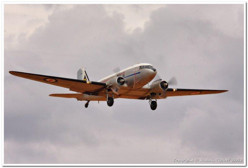 C-47 on take off