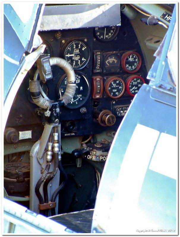 Spitfire VIII Cockpit