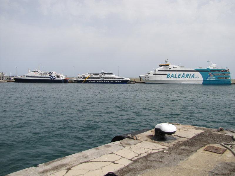 Three Ferries, Three Operators - June 2012