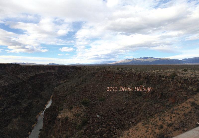 Gorge at the Rio Grande, New Mexico